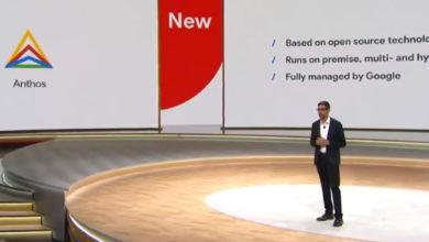 Googles Cloud Services Plattform heisst jetzt Anthos, und sie funktioniert mit AWS und Azure